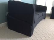 Contemporary custom fabric couch set