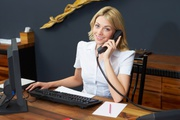 Receptionist needed to work in USA