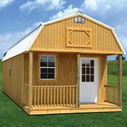 From where can I buy both the portable buildings and storage sheds